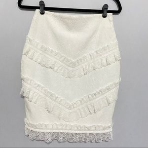 ENDLESS ROSE Lace Skirt